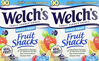 Welch's Welchs Mixed Fruit Snacks, 90 ct,, 4.5 Lb () - PACK OF 2