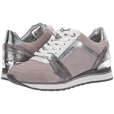 MICHAEL Michael Kors Billie Trainer (Pale Grey/Silver) Women
