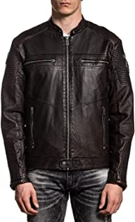Affliction Men's Moto Jacket, Chapter Variant, Riding Outerwear
