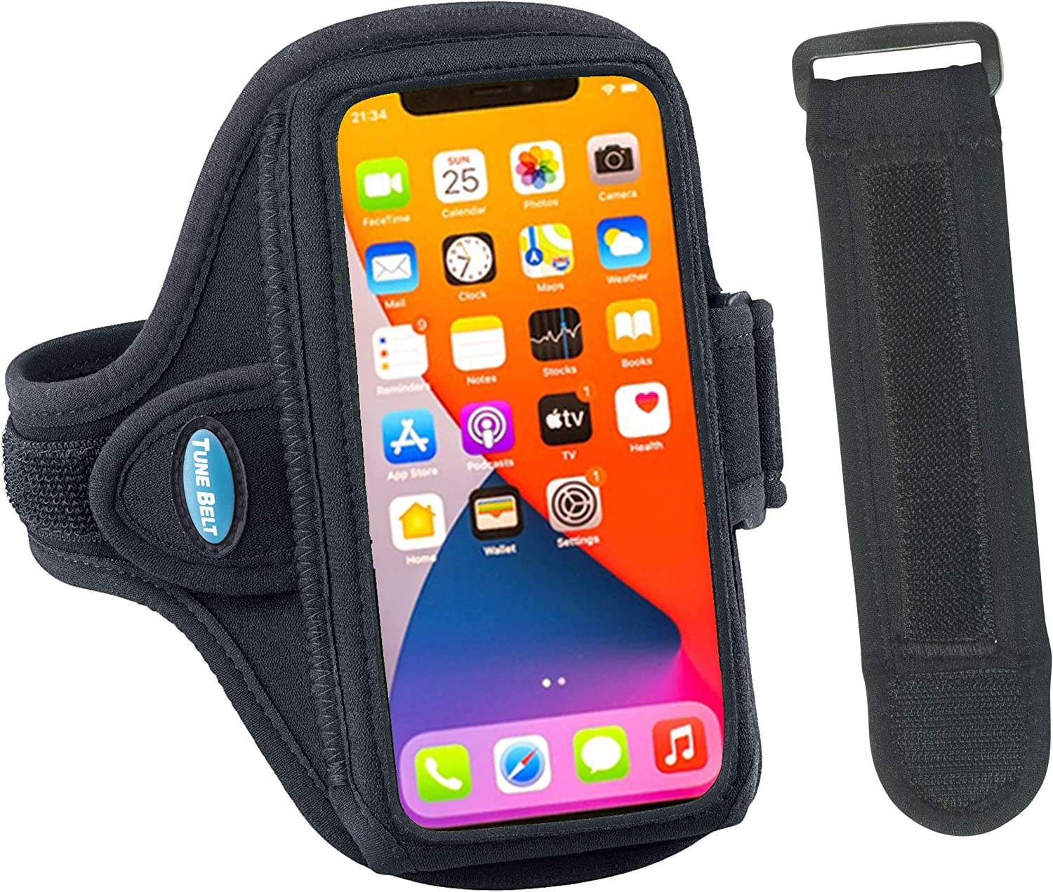 Tune Belt AB91 Cell Phone Armband 12 P Holder iPhone for OFFicial shop Milwaukee Mall Case