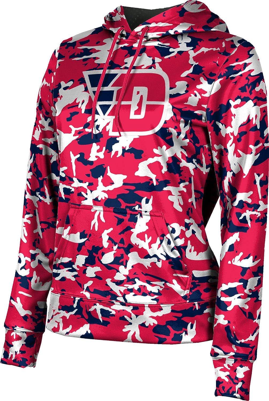 ProSphere University of Dayton Girls' Pullover Hoodie, School Spirit Sweatshirt (Camo)