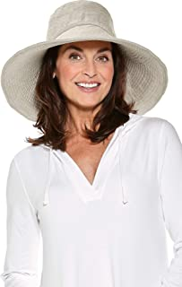 Coolibar UPF 50+ Women`s Brittany Beach Hat - Sun Protective