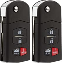 KeylessOption Keyless Entry Car Remote Control Key Fob Replacement for BGBX1T478SKE125-01 (Pack of 2)