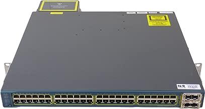 Cisco WS-C3560E-48PD-SF Catalyst 3560E 48-port 10/100/1000 Switch PoE+2*10GE(X2)