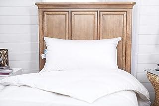 Premium 100% White Goose Down Medium Firm Pillow (King (Soft))