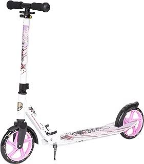 Star-Scooter Patinete Patineta Scooter Plegable XXL para ni