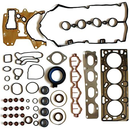cciyu Engine Head Bolts Set fit for Chevrolet Aveo5 4-Door 1.6L LT