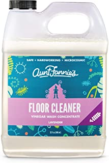 Aunt Fannie's Floor Cleaner Vinegar Wash (32 ounce jug); Natural Multisurface Floor Cleaner (Lavender)