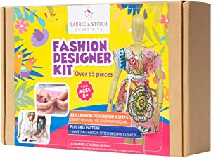 Fashion Designer Kits for Girls. Create Many Designs for the 8.5