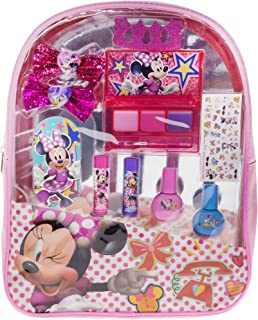 Townley Girl Disney Minnie Mouse Backpack Cosmetic Set (Pink)