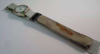 Reflex Boys Beige Camouflage Fabric Velcro Strap Watch 1017113C