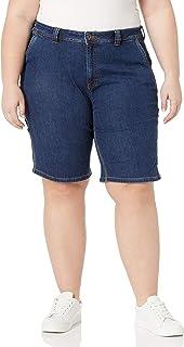 Dickies Women's Plus Size Denim Carpenter Short