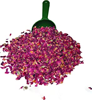 Alive Herbal Dried Red Rose Buds and Petals | 4 Oz | Fresh, Food Grade Edible Fragrant Natural flavor | Best for - Making ...