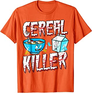 Funny Halloween Costume T-Shirt Cereal Killer