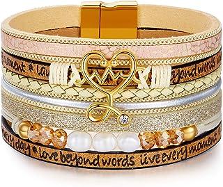 DESIMTION Gifts for Nurses Heartbeat Stethoscope Bracelets Jewelry RN Registered Nurse Gifts for Graduation Birthday Nurse...