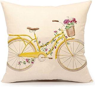 Amazon Com Yellow Decorative Pillows