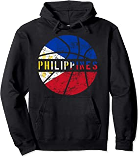 Philippines Basketball Jersey Gift Flag for Fans and Lovers Pullover Hoodie