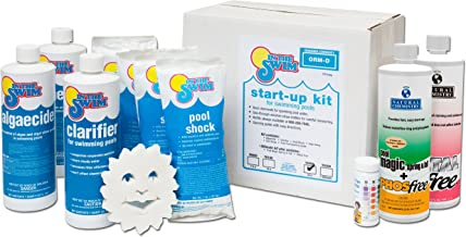 pool chemical start up instructions