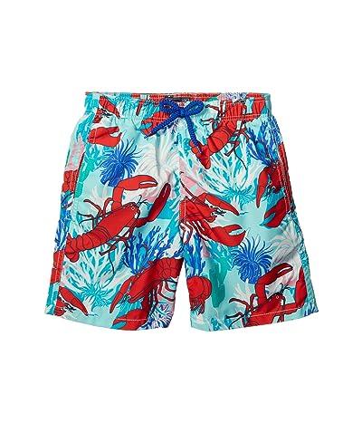 Vilebrequin Kids Lobster Coral Jim Swim Trunks (Toddler/Little Kids/Big Kids)