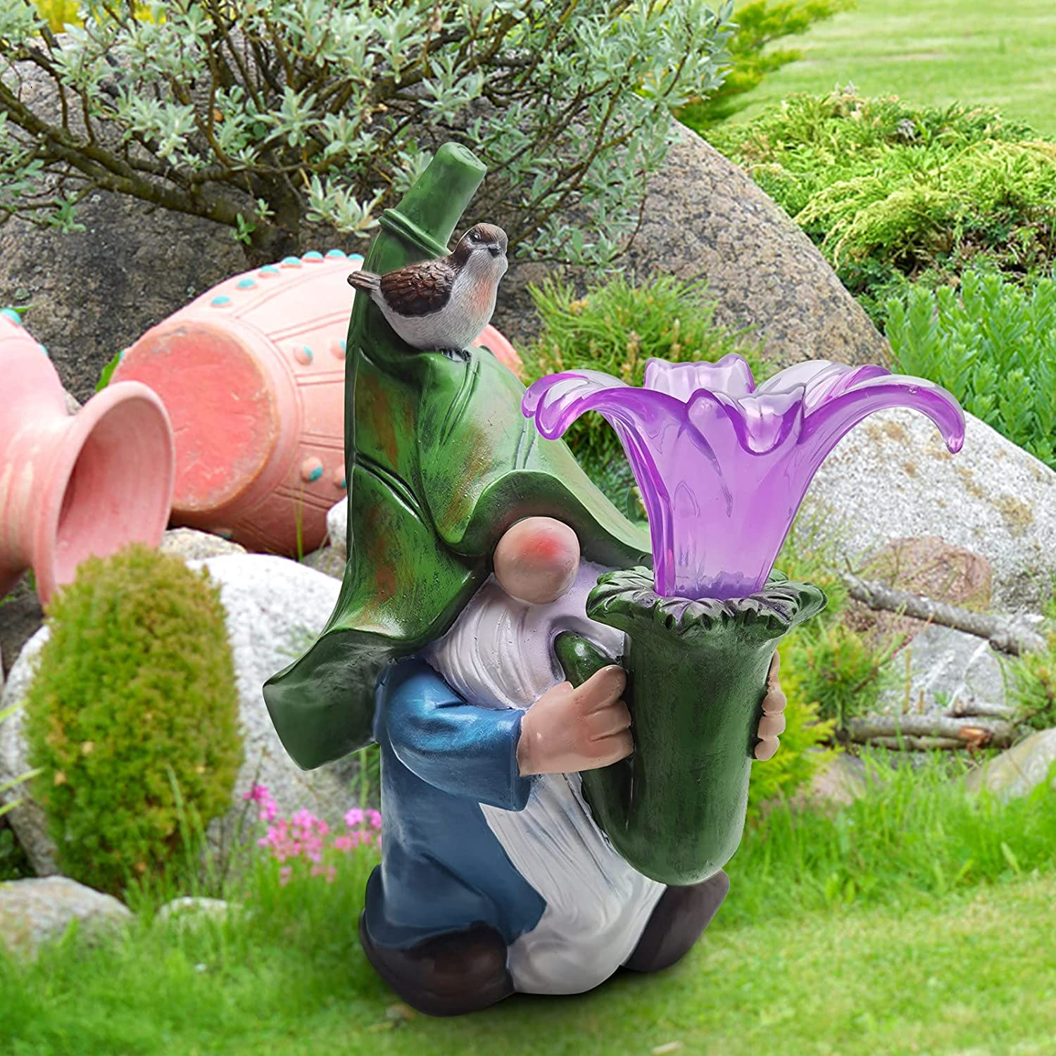 Resin Garden Dwarf Ranking Mail order cheap TOP7 Statue 2021 Gnome Newest Figurine The Carryi