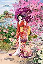 Japanese Dance Diamond Painting Full Drill by LUHSICE, 45x65cm
