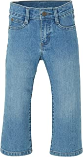 Wrangler Unisex-Child ZT6ZBCP Authentis Toddler Boys' Bootcut Jean Jeans - Blue