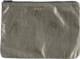 Tracey Tanner Zipper Top Pouch - Grey Smoke Streaks