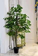 Artificial plants Simulation Of Banyan Trees Potted 1.7 Meters plant Home Indoor/Outdoor Garden Decoration