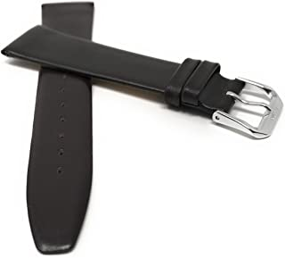Bandini Leather Watch Band Strap - Classic - Slim - 2 Colors (with or Without Stitch) - 6mm, 8mm, 10mm, 12mm, 14mm, 16mm, 18mm, 20mm (Also Comes in Extra Long, XL)