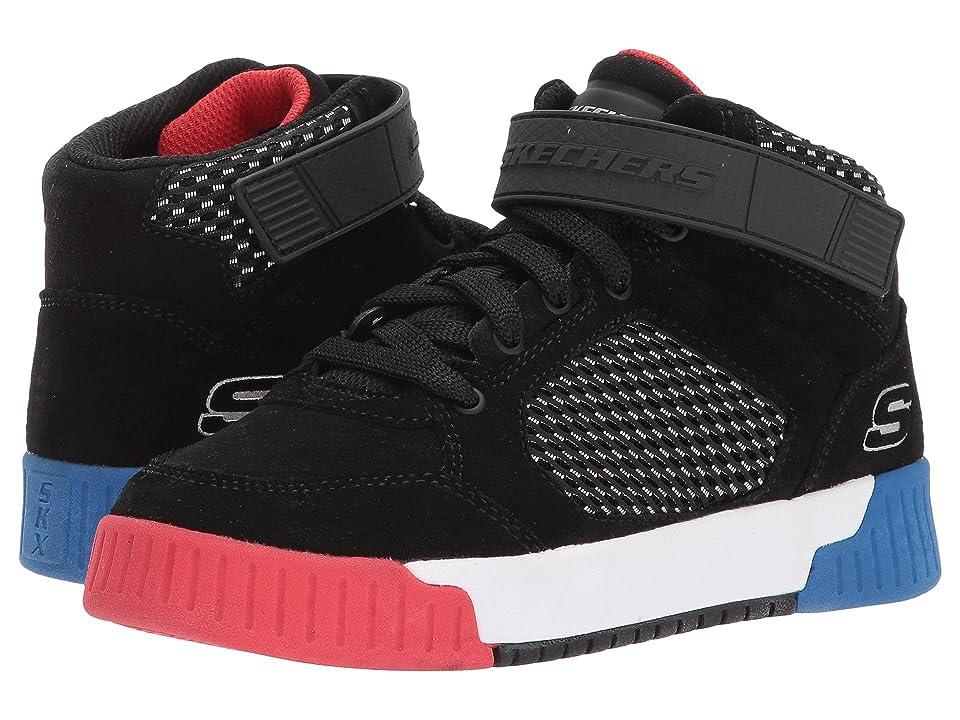 SKECHERS KIDS Adapters 93739L (Little Kid/Big Kid) (Black) Boys Shoes