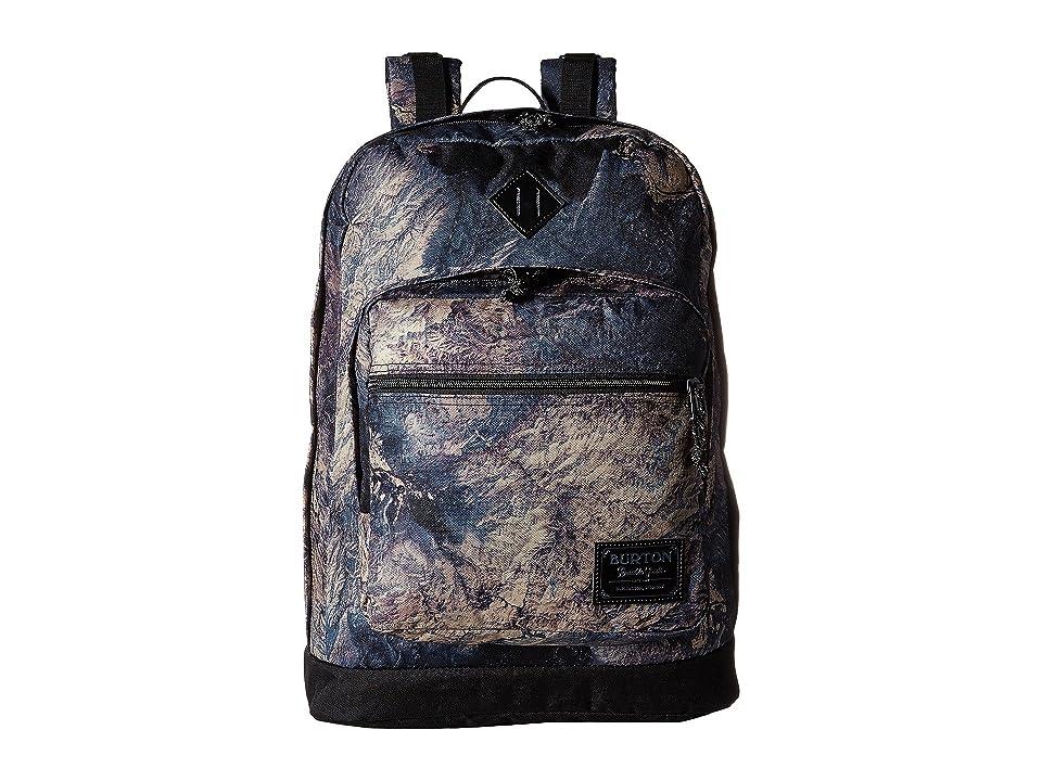 Burton Big Kettle Pack (Earth Print) Backpack Bags