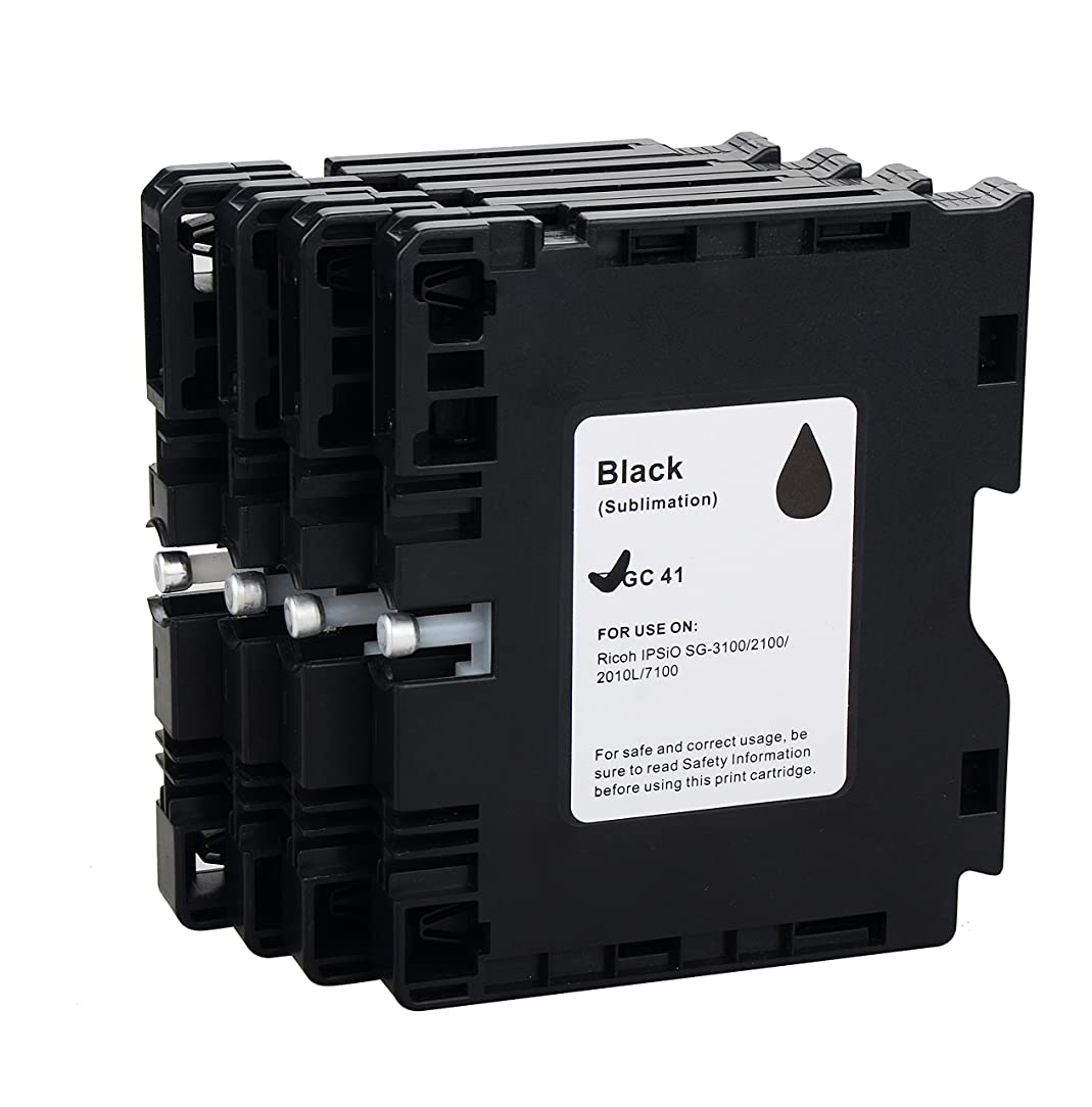 Ricoh GC41 Compatible Inkjet cartridge for Ricoh GC41 sublimation ink SG2100 SG3110DN SG2010 4PC WINK