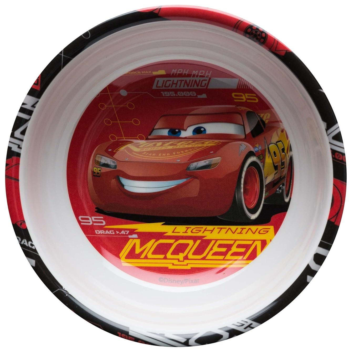 Zak Designs CRSG-0361 Cars 3 Melamine Bowl W-Rim, 15 oz, Multicolor
