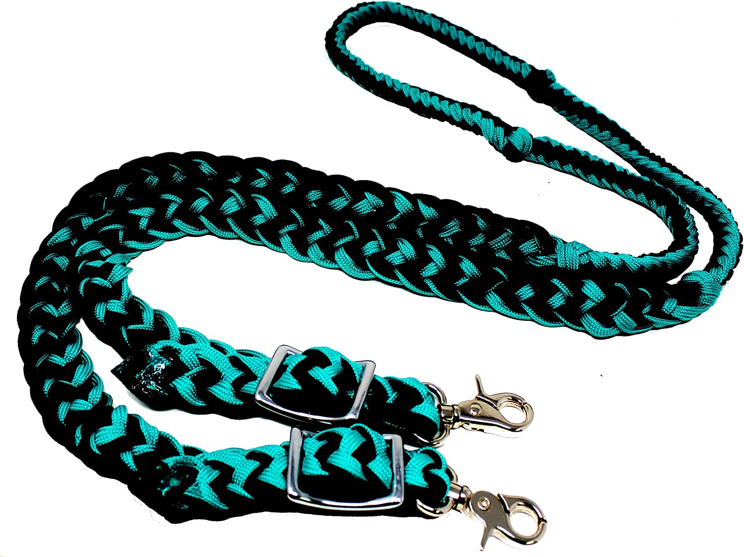 unisex CHALLENGER Roping Knotted Horse Max 45% OFF Tack Western Barrel Reins Nylon