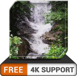 cachoeira incrível grátis HD - decore seu quarto com belas paisagens de cachoeira na sua TV HDR 4K, TV 8K e dispositivos de incêndio como papel de parede e tema para mediação e paz e férias de Natal