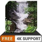 impresionante cascada HD gratis: decora tu habitación con hermosos paisajes en cascada en tu televisor HDR 4K, TV 8K y dispositivos de fuego como fondo de pantalla y tema para la mediación y la paz y