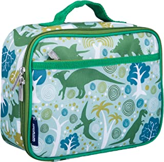 Wildkin Kids Insulated Lunch Box for Boys and Girls, Perfect Size for Packing Hot or Cold Snacks for School and Travel, Patterns Coordinate with Our Backpacks and Duffel Bags, Dinomite Dinosaurs