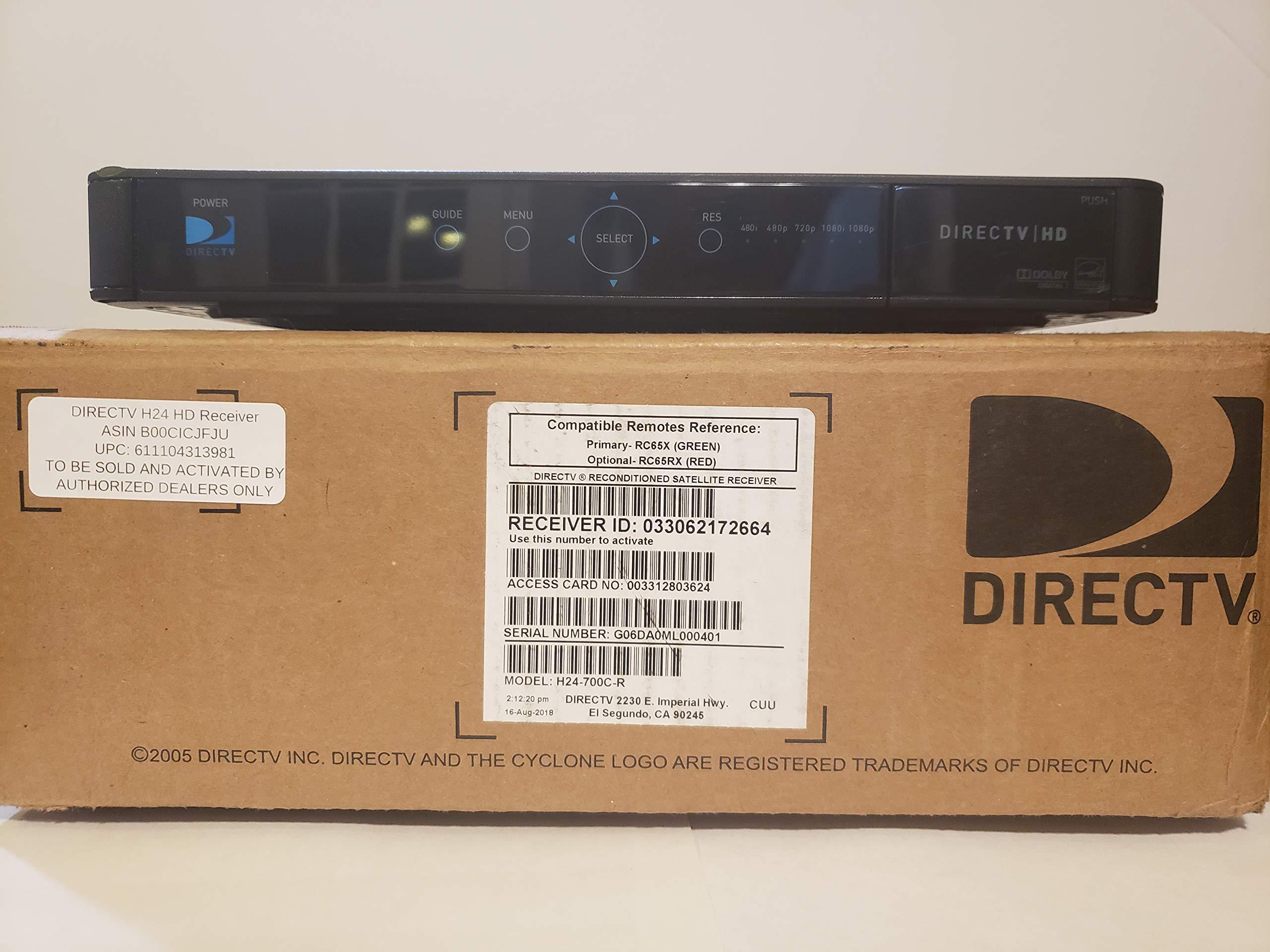 AT Directv H24 HD Receiver