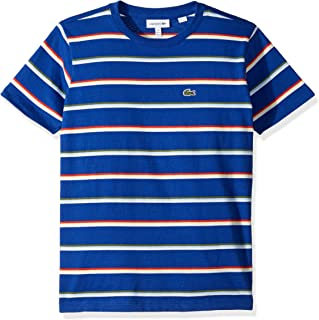 Lacoste Boy Summer Lover Striped T-Shirt