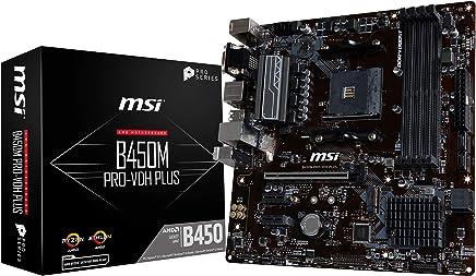 MSI B450M PRO-VDH PLUS ATX マザーボード [AMD B450チップセット搭載] MB4680
