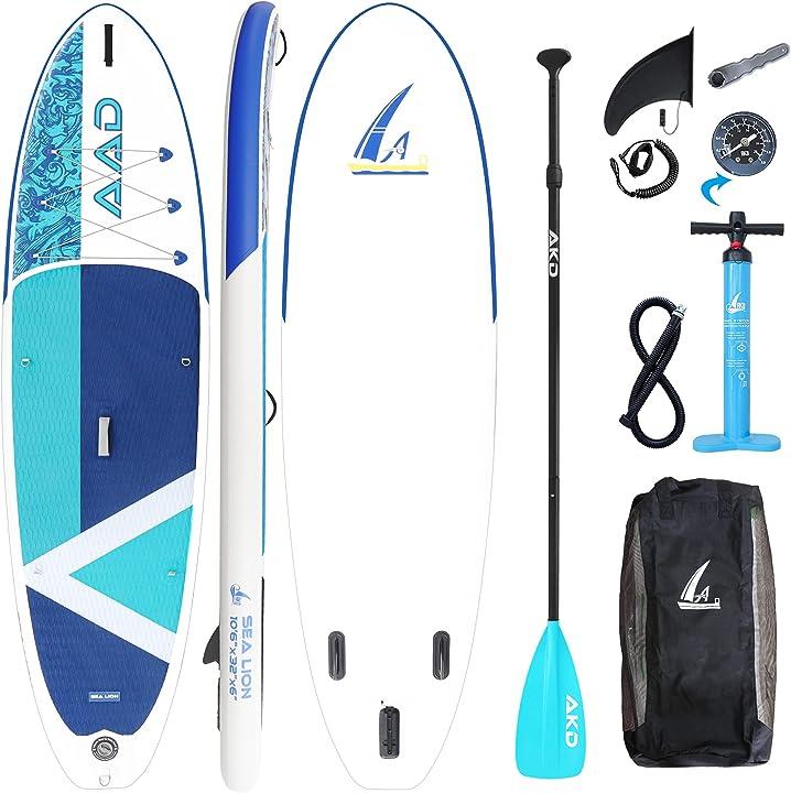 Tavola gonfiabile da stand up paddle 10`6