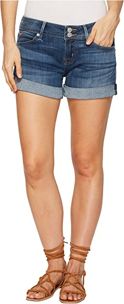 Hudson Croxley Mid Thigh Shorts in Paramour
