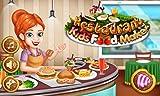 Restaurant prépare la nourriture: hamburgers, brochettes de barbecue, des glaces et des boissons ! jeu...
