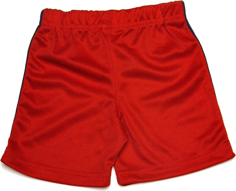 NICKELODEON Ninja Turtle Boys Premium 2-Piece Cotton T-Shirt & Mesh Shorts Outfit Set For Infant, Toddler, & Boys