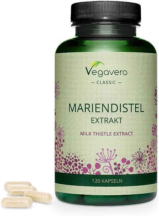 cardo mariano vegavero® | 120 o 365 capsule | con 80% di silimarina e 30% di silibinina e isosilbina vv-vita-02