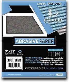 Abrasive Paper | 100 Sheets | Grit 1000 | Ultra Fine | 9