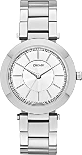 Dkny Stanhope 2.0 Women's Silver Dial Stainless Steel Band Watch - Ny2285, Analog Display
