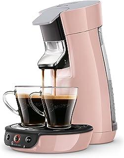 Senseo Viva Café HD6563/31 - Cafetera (Independiente, Máquina de café en cápsulas, 0,9 L, Dosis de café, 1450 W, Rosa)
