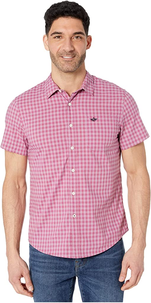 Valerian Plum/Gingham Plaid