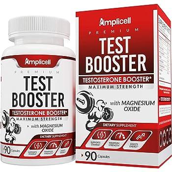 Test Booster - Testosterone Booster for Men - Boost Metabolism, Endurance and Strength - Healthy Weight Loss for Men - Natural Mood Enhancer with EstroX Blend & Tribulus Terrestris for Men - 90 Caps